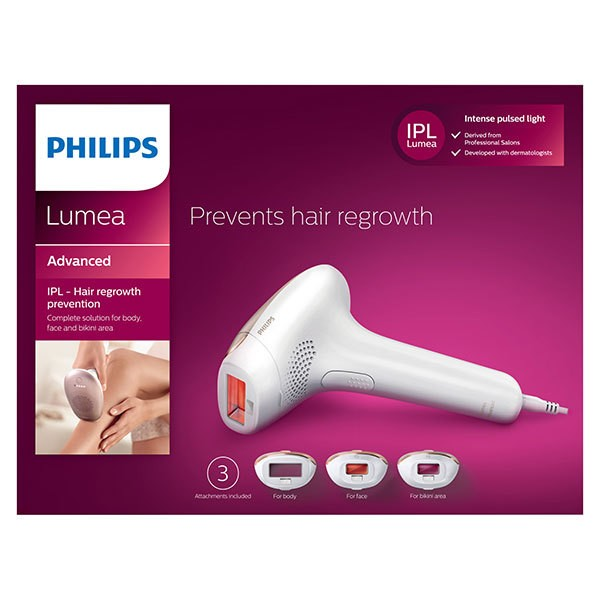 Epilátor IPL Philips Lumea Advanced SC1999/00 bílý/růžový