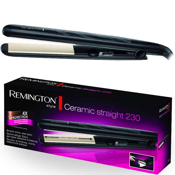 Žehlička na vlasy Ceramic Straight 230 Remington S 3500